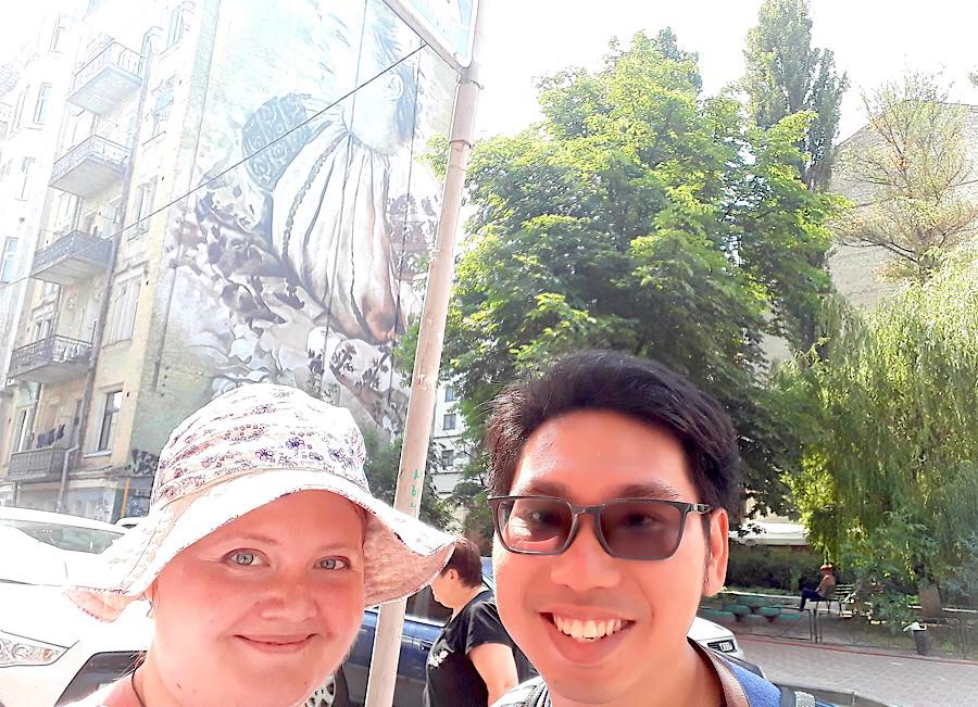 Art tour with private guide Zhenya