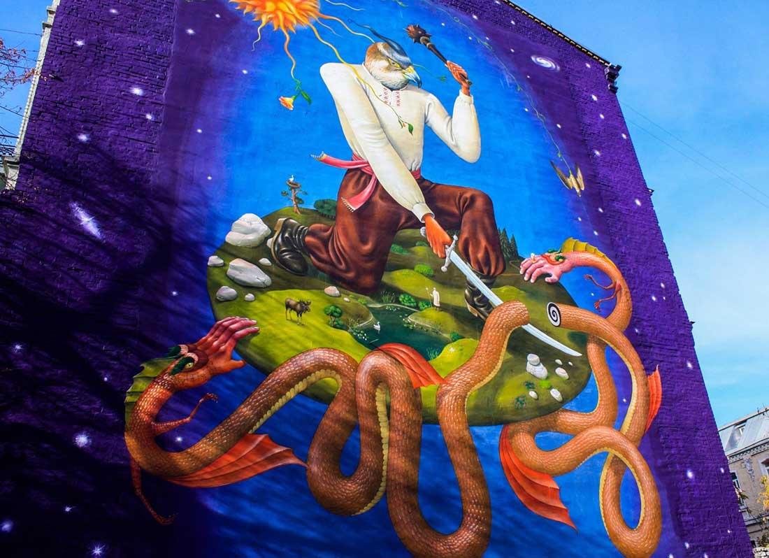 Art tour - mural 2