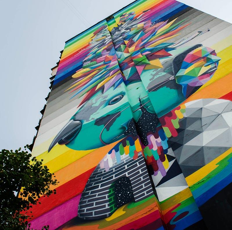 Art tour - mural 14