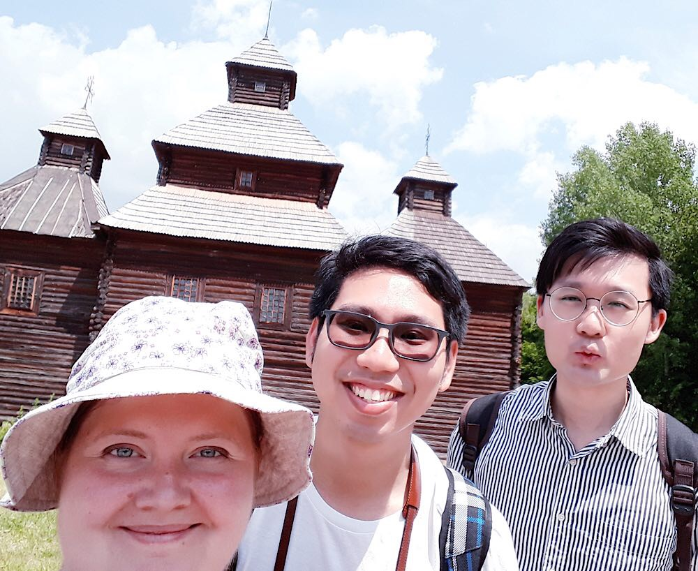 Pirohiv open air park tour with private guide Zhenya