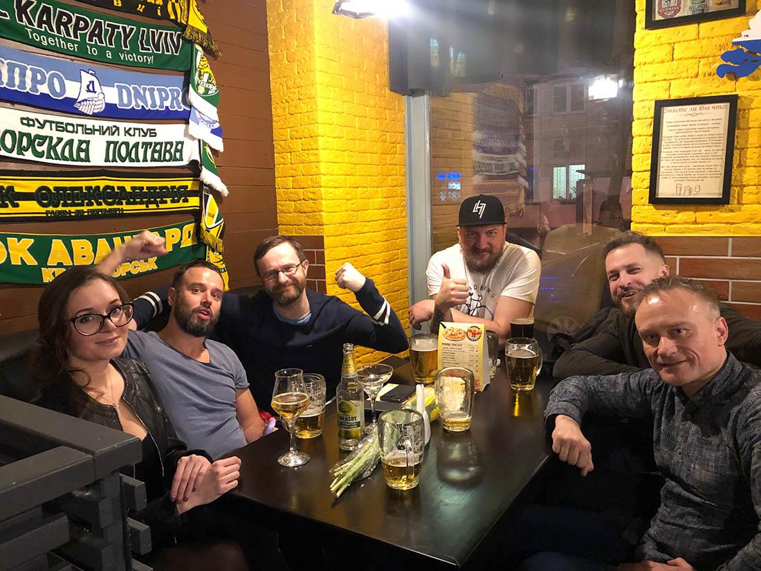 Kneipentour | Vorstellung der ukrainischen Trinkkultur