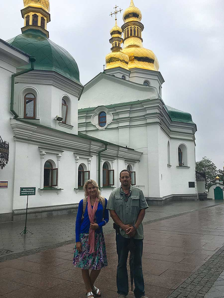 Individual tour with private guide Oksana for our guest from USA