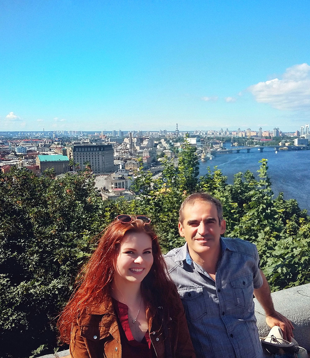 Old town tour for our guest from USA with Polina