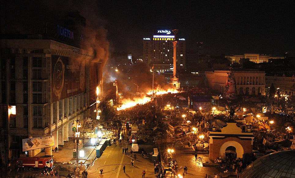 Mass Protest in Kiev (picture 3)