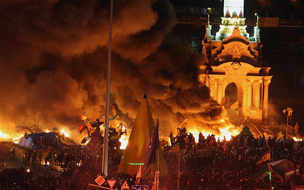 Mass Protest in Kiev (picture 2)