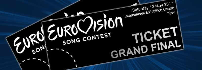 tickets of eurovision 2017