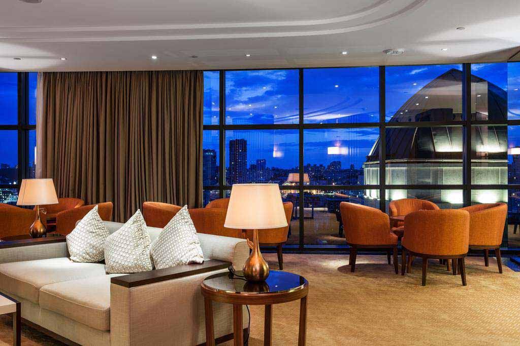 Respectable hotel in Kiev