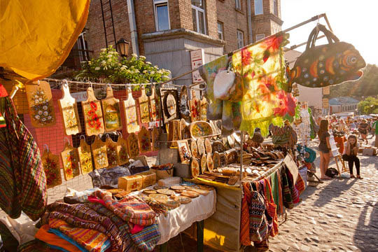 Andreyevsky Descent - souvenirs