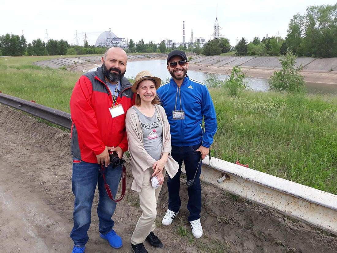 Chernobyl tour with private guide Galyna