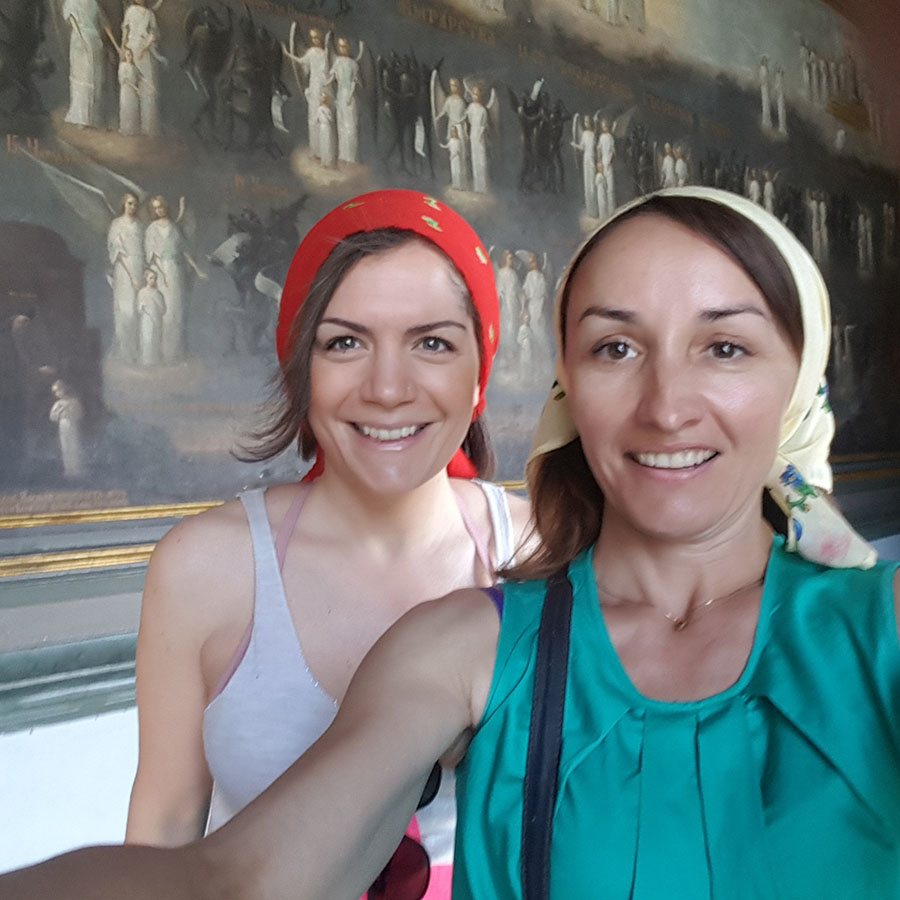 Lavra and War tours with Spanish-speaking guide Tatiana