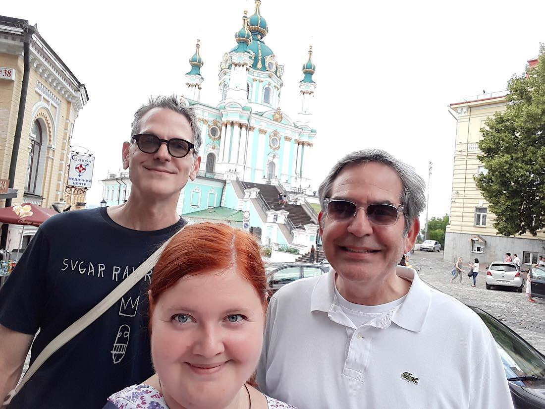 Private tour with professional guide Zhenya - KievInsiders Team