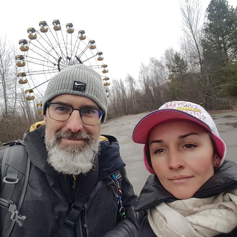 4 días de recorrido privado + VIP tour en Chernobyl para Isma desde España . Tatiana - guía profesional en Kiev