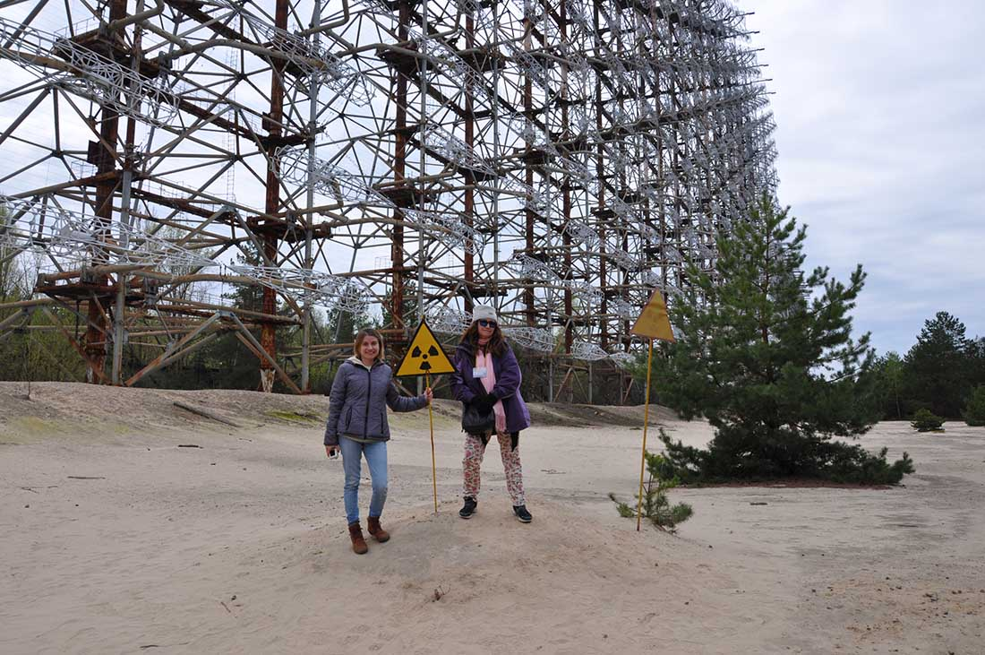 Chernobyl tour with private guide Galya