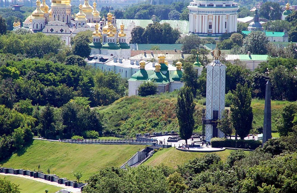 This picture shows the Green tour - Kiev Parks and Gardens