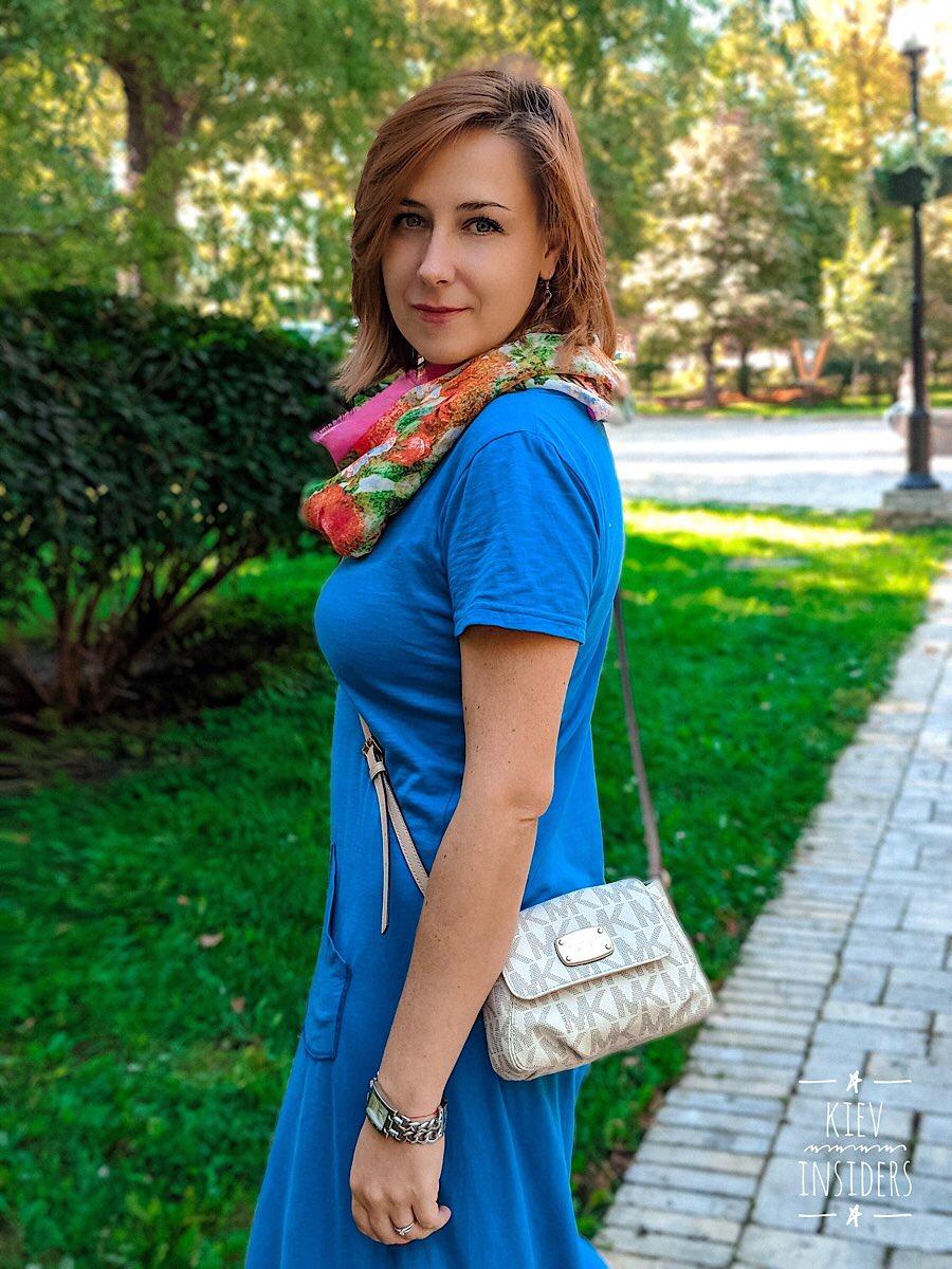 Olga- professionelle Reiseführerin und Dolmetscher | Team Kievinsiders