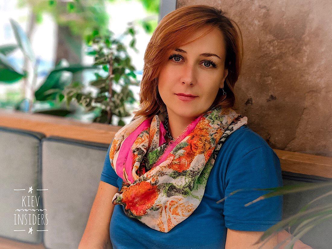Olga - professionelle Reiseführerin und Dolmetscher | Team Kievinsiders